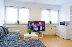 Um eine Immobilie fotografieren zu können, solle der Fernseh an sein.